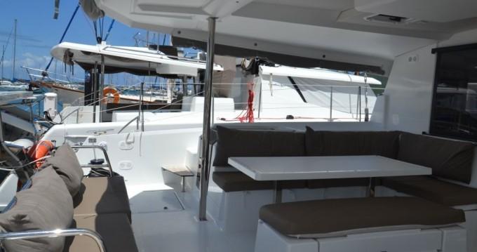 Rental Catamaran in Le Marin - Fountaine Pajot Saona 47