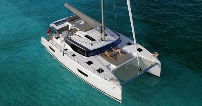 Hire Catamaran with or without skipper Fountaine Pajot Praslin Island