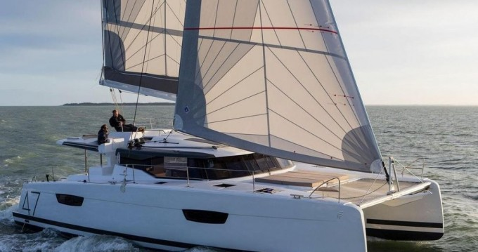 Fountaine Pajot Saona 47 between personal and professional West Harbor Key