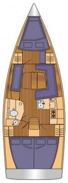 Rental yacht Palma de Mallorca - Hanse Hanse 385 on SamBoat
