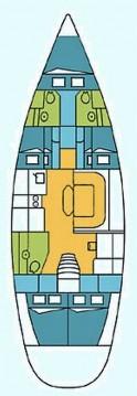 Rental yacht Alimos - Harmony Harmony 52 on SamBoat
