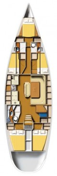 Rental Sailboat Harmony with a permit