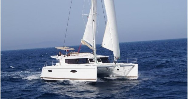 Fountaine Pajot Helia 44 between personal and professional Saint Thomas
