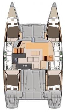Rental yacht Saint Thomas - Fountaine Pajot Helia 44 on SamBoat