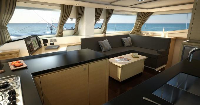 Boat rental Praslin Island cheap Helia 44