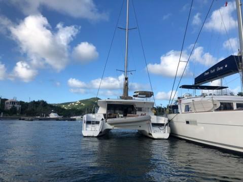 Boat rental Scrub Island cheap Helia 44