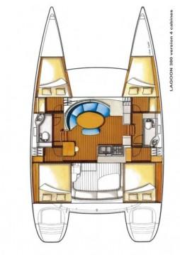Rental yacht Komolac - Lagoon Lagoon 380 on SamBoat
