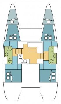 Rental Catamaran in Saint-Mandrier-sur-Mer - Lagoon Lagoon 39