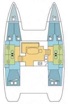 Rental yacht Anse Marcel - Lagoon Lagoon 400 S2 on SamBoat