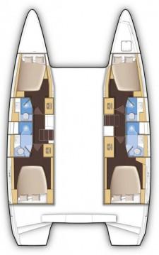 Rental yacht Nassau - Lagoon Lagoon 42 on SamBoat