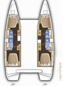 Rental Catamaran in Olbia - Lagoon Lagoon 42