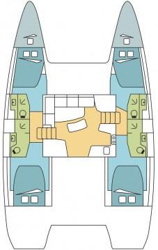 Rental Catamaran in Scrub Island - Lagoon Lagoon 42