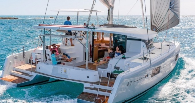 Hire Catamaran with or without skipper Lagoon Seget Donji