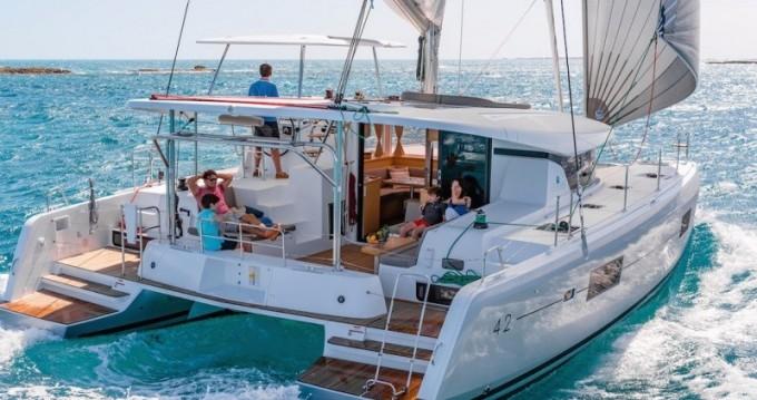 Rental Catamaran in Komolac - Lagoon Lagoon 42