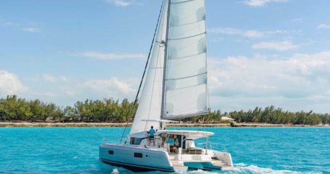Catamaran for rent Paros Island at the best price