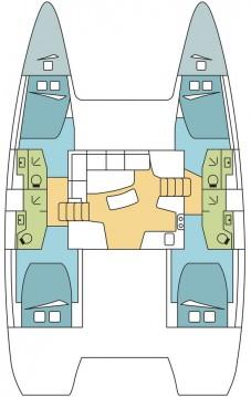 Rental yacht Le Marin - Lagoon Lagoon 42 on SamBoat