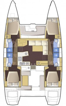 Hire Catamaran with or without skipper Lagoon Jamestown