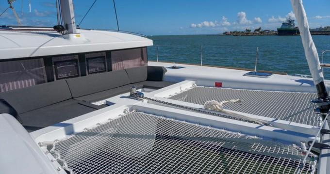 Boat rental Saint Thomas cheap Lagoon 450 Sport Top
