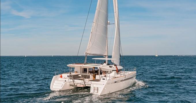 Hire Catamaran with or without skipper Lagoon Saint Thomas