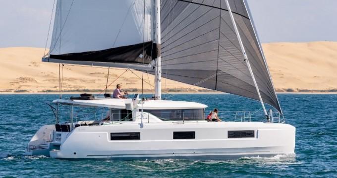 Hire Catamaran with or without skipper Lagoon Scrub Island