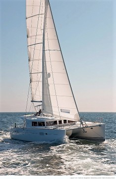 Boat rental Saint Thomas cheap Lagoon 50