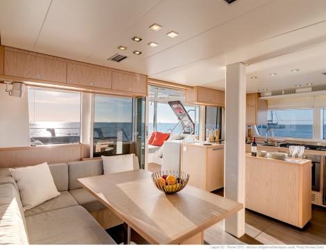 Hire Catamaran with or without skipper Lagoon Praslin Island