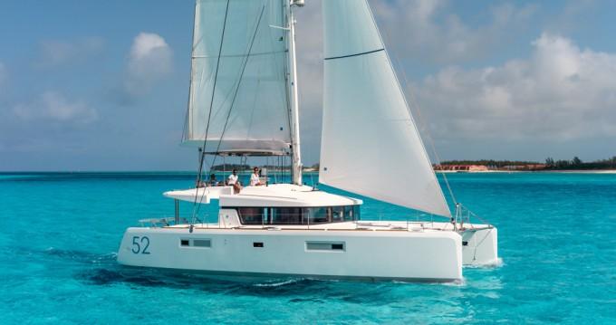 Boat rental Scrub Island cheap Lagoon 52 F
