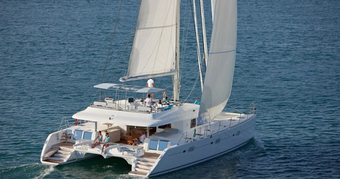 Rental Catamaran in Bas du Fort - Lagoon Lagoon 620 - 6 + 2 cab.