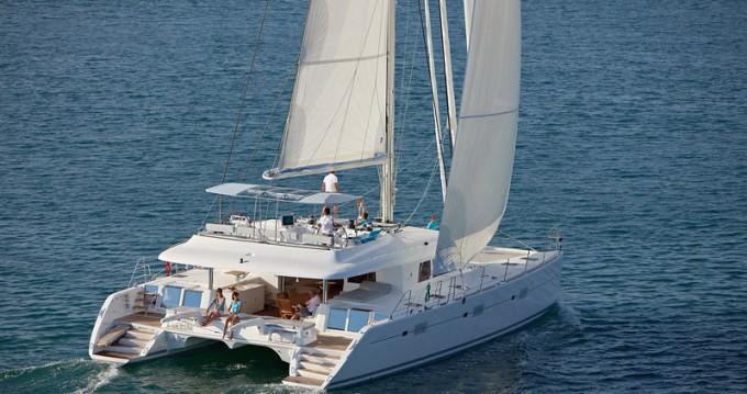 Hire Catamaran with or without skipper Lagoon Raiatea