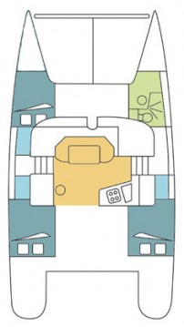 Fountaine Pajot Mahe 36 - 3 cab. between personal and professional Airlie Beach