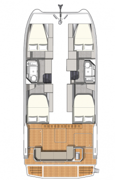Fountaine Pajot Motor Yacht 4.S  between personal and professional Alimos