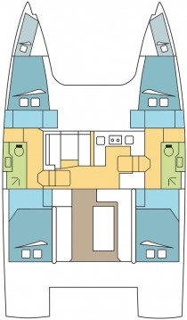 Rental yacht Saint-Mandrier-sur-Mer - Nautitech Nautitech 40 on SamBoat