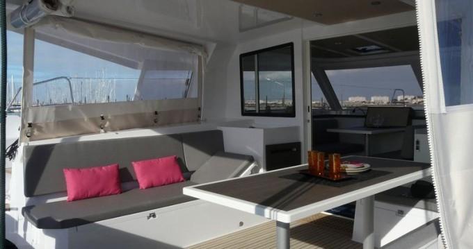 Boat rental Kotor cheap Nautitech 40