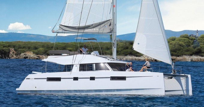 Boat rental Nautitech Nautitech 46 Fly in Le Marin on Samboat