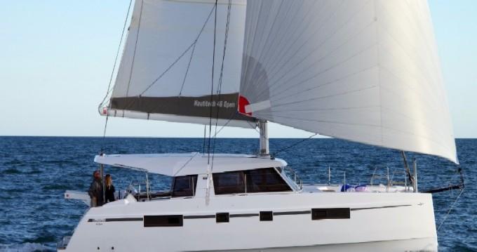 Rental Catamaran in Anse Marcel - Nautitech Nautitech 46 Open