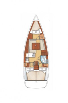 Bénéteau Oceanis 34 between personal and professional La Rochelle