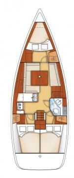 Rental Sailboat in Hamble-le-Rice - Bénéteau Oceanis 37
