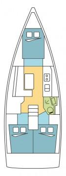 Boat rental Kos cheap Oceanis 38.1