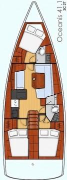 Rental Sailboat in Lávrio - Bénéteau Oceanis 41.1