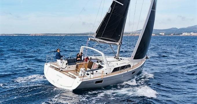 Boat rental Lávrio cheap Oceanis 41.1