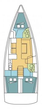 Boat rental Palma de Mallorca cheap Oceanis 41.1