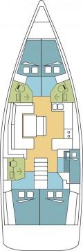 Rental yacht Naples - Bénéteau Oceanis 48 on SamBoat