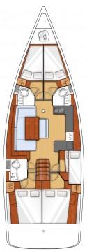 Rental yacht Gouvia - Bénéteau Oceanis 48 on SamBoat
