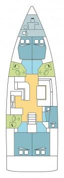 Boat rental Alimos cheap Oceanis 51.1