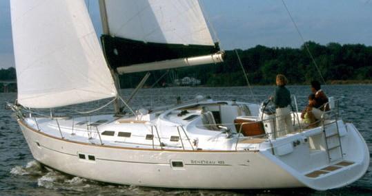 Rental Sailboat in Gouvia - Bénéteau Oceanis Clipper 423 - 4 cab.