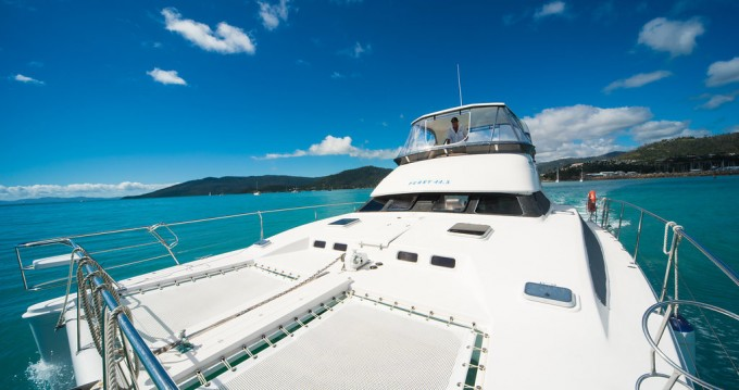 Boat rental Airlie Beach cheap Perry 44.5 PC