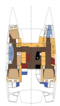 Fountaine Pajot Salina 48 Evolution - 3 + 1 cab. between personal and professional Airlie Beach