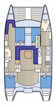 Rental yacht Airlie Beach - Seawind Seawind 1250 on SamBoat