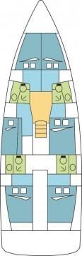 Rental yacht Saint-Mandrier-sur-Mer - Jeanneau Sun Loft 47 - 6 + 1 cab. on SamBoat