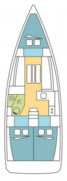 Jeanneau Sun Odyssey 349 between personal and professional Gouvia